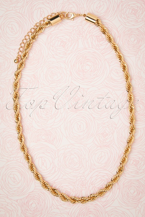 Darling Divine 31331 Necklace Gold Braided 190814 005W