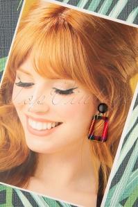 Darling Divine 31358 Earrings Multi Red 190814 005W