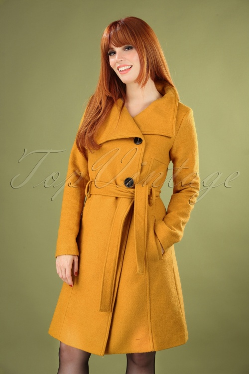 Bunny 30132 Mustard Yellow Rocco Coat 20190730 040MW