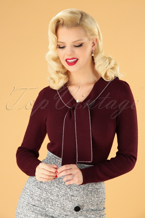 Bunny 30709 Connie Jumper in Burgundy 20190704 040MW