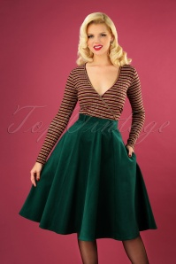 Bunny 30729 Jefferson Skirt in Dark Green 20190704 040M copyW