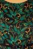 Lady V 30857 Swingdress Hepburn Black Floral 190821 005W