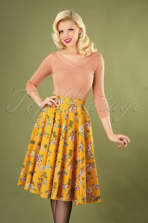 Bunny 30734 Muriel 50s Swing Skirt 20190704 040M copyW