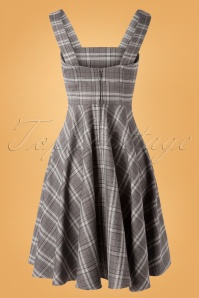 Bunny 30795 Swingdress Frostine Pina Grey 08212019 009W