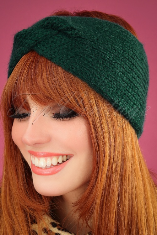 King Louie 29537 Hairband Jules Pine Green 040M W