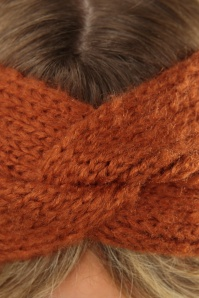 King Louie 29539 Hairband Jules Spicy Brown 041M copy