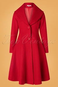 Belsira 31281 Coat in Red 20190822 010W