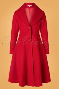 Belsira 31281 Coat in Red 20190822 010W