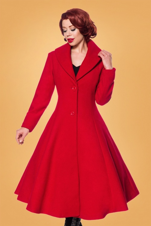 Belsira 31281 Coat in Red 20190816 020LW