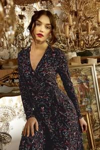 Fantasy Girl Dress Années 60 en Noir