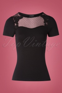 Vive Maria 50s British Shirt in Black