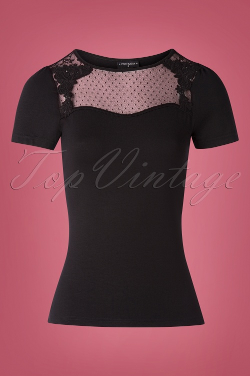 Vive Maria 30081 British Shirt Black20190626 004W