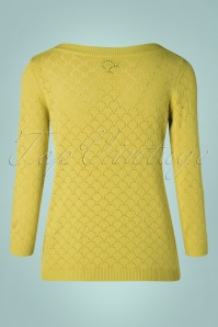 Mademoiselle Yeye 29598 Staying Up Knit Jumper Yellow 20190726 006 W
