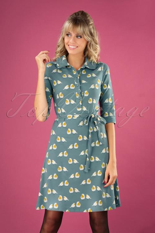 Froy & Dind 29137 Robin Blue Dress 20190717 040MW