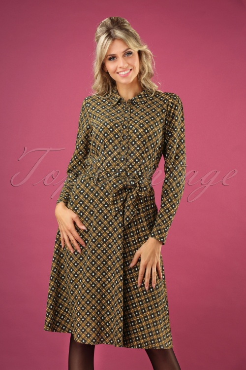 King Louie 29378 Sheeva Shirt Dress Square Dance20190710 040MW