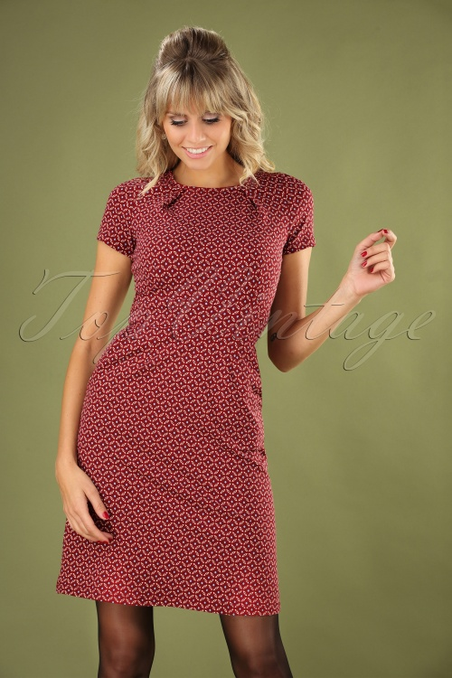 King Louie 29404 Swingdress Red Mona Namara 20190711 040MW