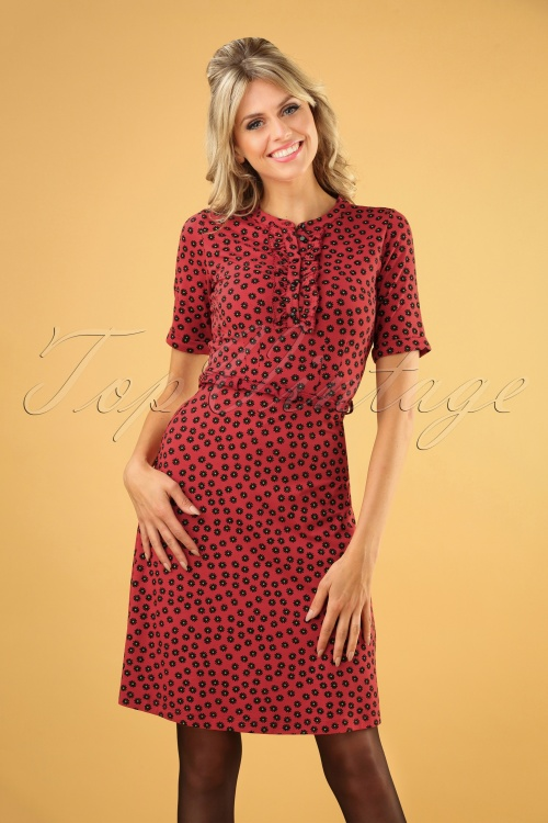 King Louie 29440 Caro Dress Icon  Red20190627 040MW