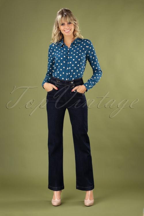 KingLouie 29381 Sailor Pants in Denim Blue 20190723 040MW