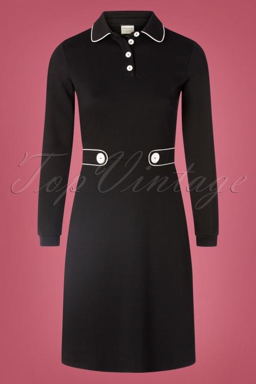 Mademoiselle Yeye 29590 There She Goes Black Dress 20190823 002W