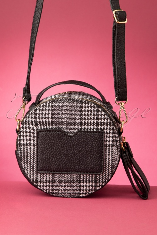 Darling Divine 31329 Handbag In Black check20190822 016W