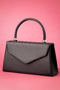 50s The Perfect Evening Bag in Black