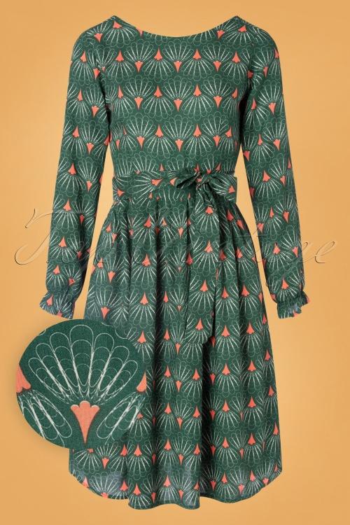 Mademoiselle Yeye 29580 Mindfulness Green Dress 20190822 003W1