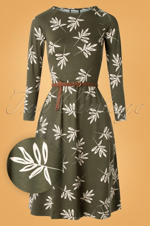 Mademoiselle Yeye 29585 Let The Leaves Dress 20190823 004W1