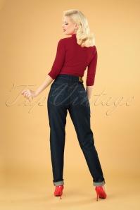Rockabooty  30969 Cleo Denim Jeans 20190509 041MW