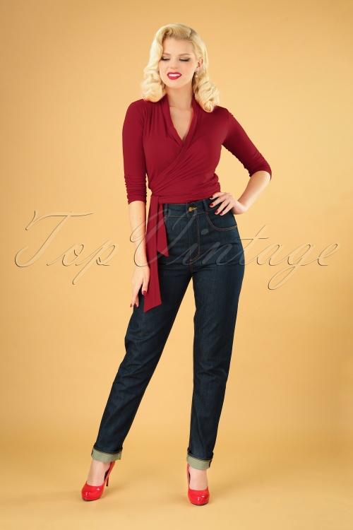 Rockabooty  30969 Cleo Denim Jeans 20190509 040MW