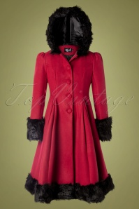 Bunny 30307 Coat Elvira Red Black 08262019 0012W