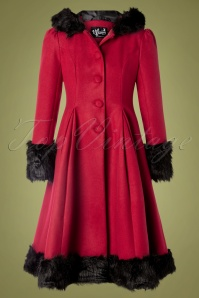 Bunny 30307 Coat Elvira Red Black 08262019 0009W