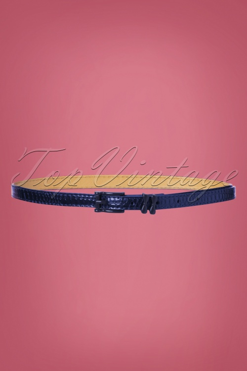 Banned 29225 Lizzard Belt Blue 20190613 004W