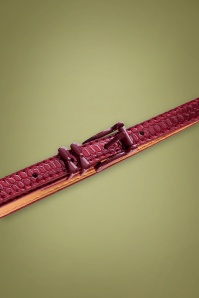 Banned 29226 Lizzard Belt Burgundy 20190613 020LW