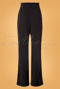 Unique Vintage 29951 Pants Black Myrna 08262019 0006W