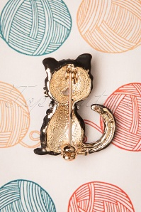 Collectif 30459 Black Kitty Broche20190822 006W