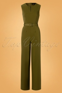 Paper Dolls 30829 Khaki Green Jumpsuit 20190827 006W