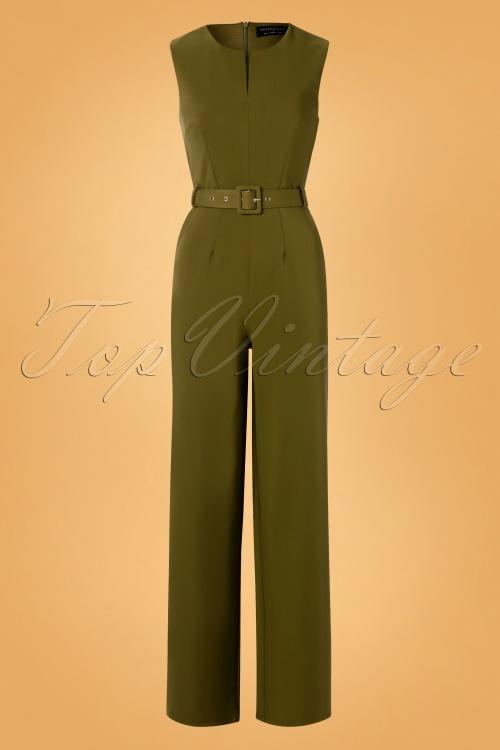 Paper Dolls 30829 Khaki Green Jumpsuit 20190827 006W