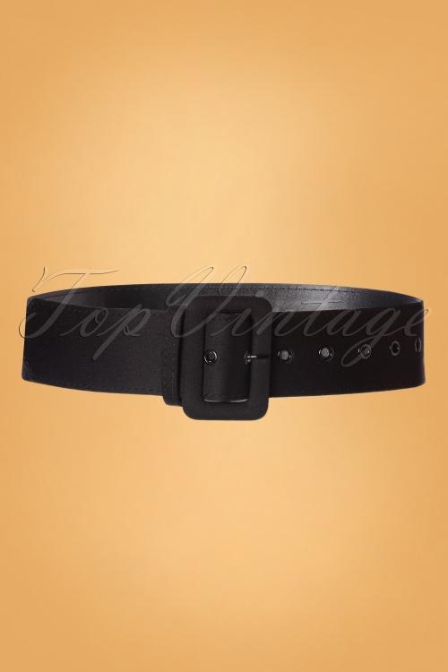 Collectif 30457 Jade Plain Belt Black20190827 006W
