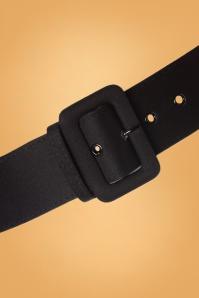 Collectif 30457 Jade Plain Belt Black20190827 006CropW