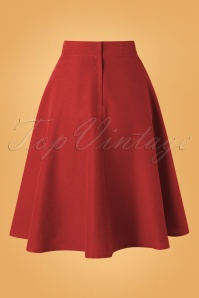 Banned 30680 Sally Skirt in Red 20190529 002W