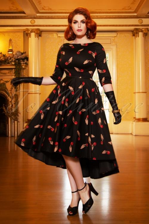 Vintage Diva 29633 Amber Swing Dress  20190410 2W