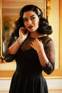 Vintage Diva 29618 Julia Swing Dress in Black 20190410 2
