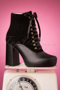 Lola Ramona Loves Topvintage 30442 chloe Black Boots 20190722 008 W