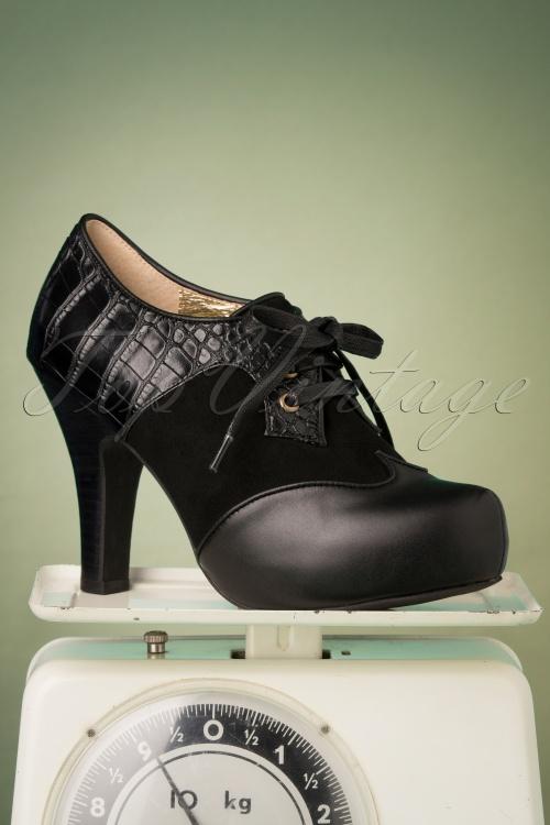 Lola Ramona Loves Topvintage 30430 Black Heels Angie 20190722 006W