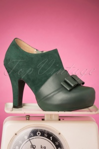 Lola Ramona Loves Topvintage 30434 Bottle Green Angie Heels 20190722 008W