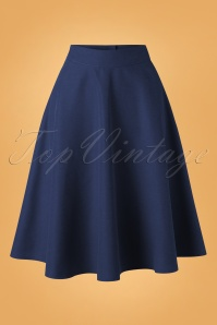 Banned 30682 Sally Skirt in Navy Blue 20190529 001W