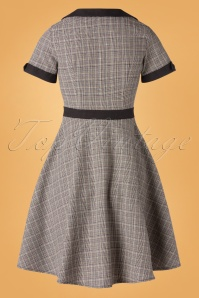 Banned Retro 30651 Happy Checked Dress 20190819 006W