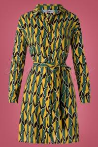 Banned Retro 30632 Ragtime Leaf Shirt Dress 20190603 002W