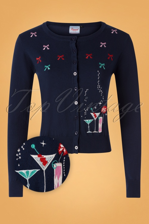 Banned 30640 Christmas Cocktails Cardigan 20190626 002Z