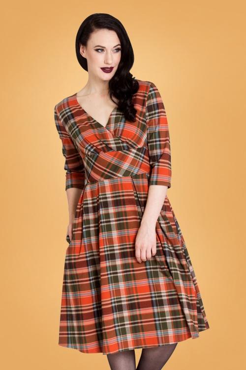 Bunny 30726 Oktober 50s Swing Dress 20190830 004W